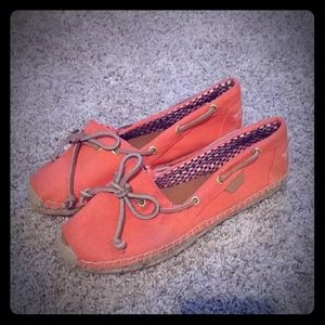 Sperry Coral Loafers